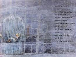 """Onzichtbaar. UIt: """"Jij bent de liefste"""" van Hans en   Monique Hagen. Illustratie: Marit Tornqvist"""