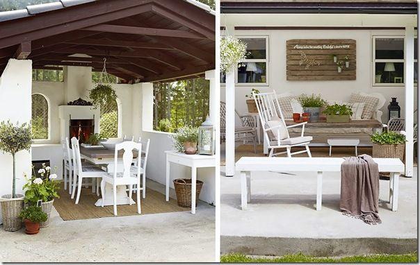 case e interni - casa Norvegia - Scandinavia -  shabby chic - bianco (2)