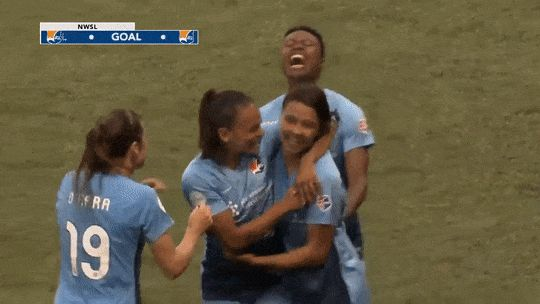 "fratdaddieohara: ""sam kerr's goal vs portland """