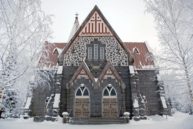 Alahärmä kyrka, Finland