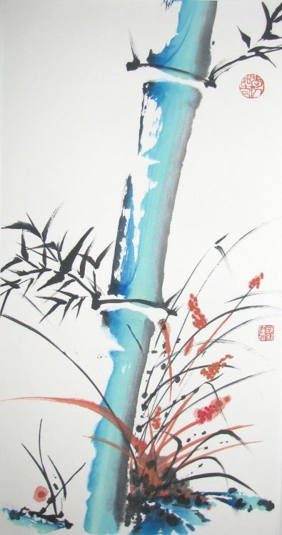 Bambou japonais par Catherine Jungo Mondoux