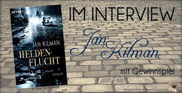 """Ich darf heute den Schriftsteller Jan Kilman auf meinem Blog vorstellen. Ihr dürft Euch auf ein interessantes Interview freuen und es gibt natürlich sein Buch """"Heldenflucht"""" zu gewinnen."""