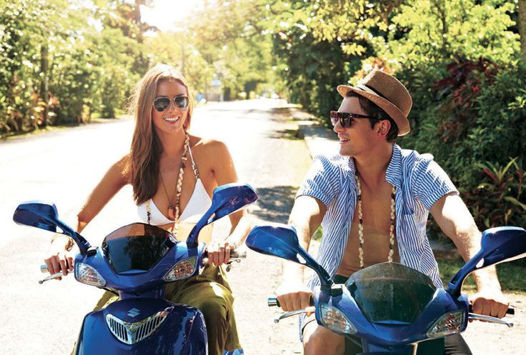 With Rarotonga being only 34km around - a scooter is a great way to explore the island - and there is no chance of getting lost!