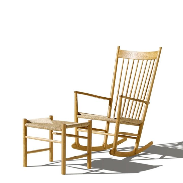 Designed In Wegner U0027s Rocker With The Sensually Curved Arms Was Inspired By  Traditional Windsor And Shaker Furniture, Fused With Wegneru0027s Poetic Lines.