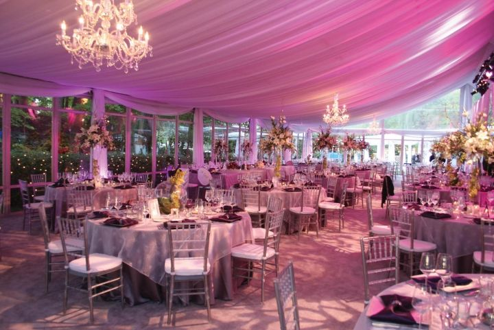 Dynamic tent decor for less - InTents