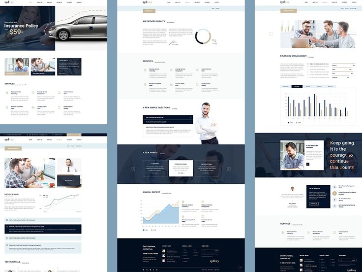 Sydney -  HTML5 & CSS3 / Bootstrap Template