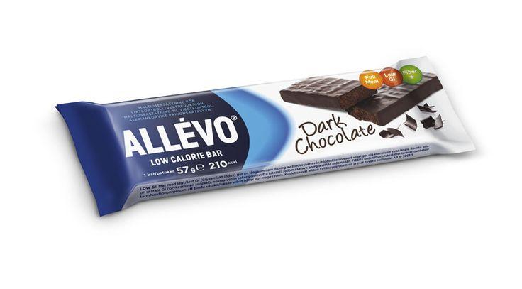ALLEVO, ateriankorvauspatukat, itseasiassa kaikki muut maut paitsi kuvan tumma suklaa :)