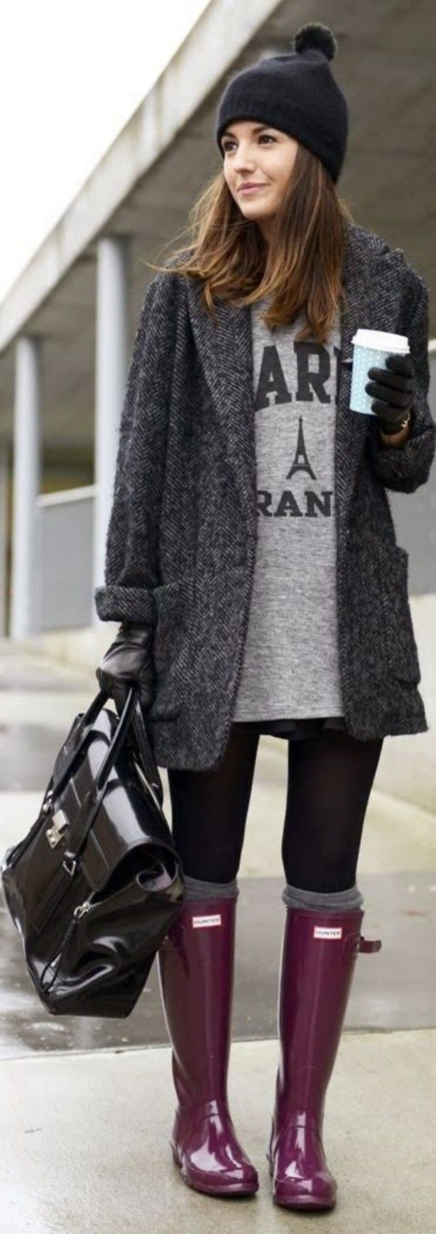 the 25+ best cute rainy day outfits ideas on pinterest | purple