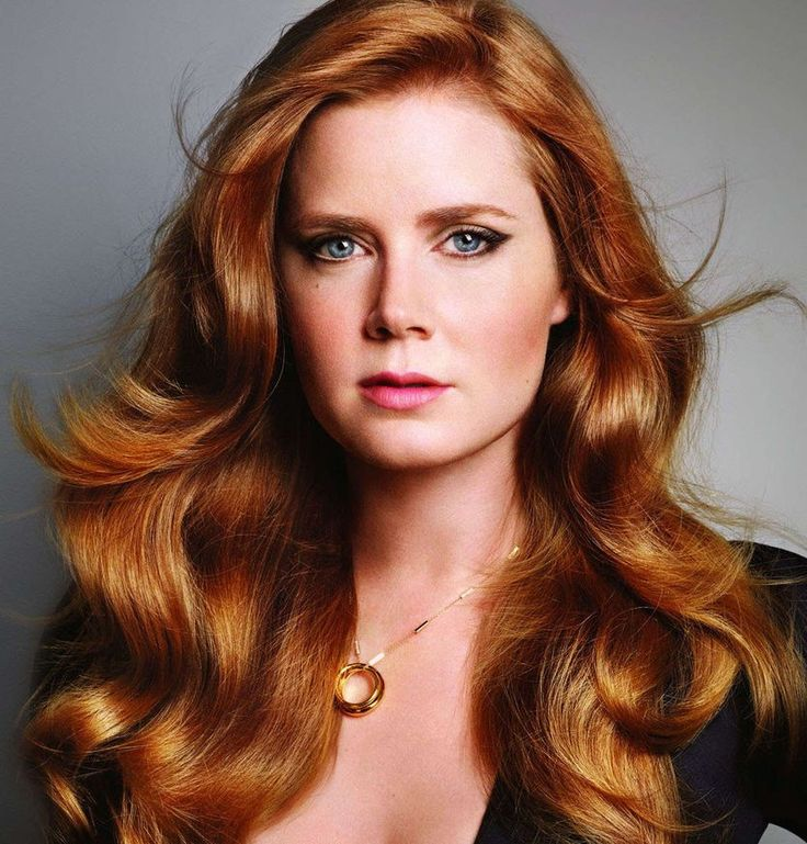 Amy Adams red copper hair ~~ 21 most famous celebrity redheads to inspire your next hair color