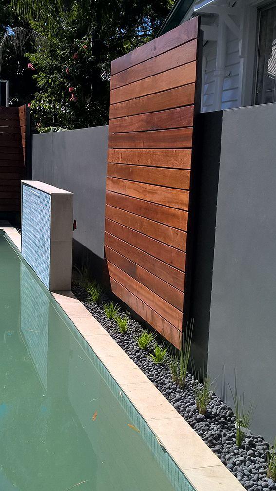 SEED Landscape Design timber screening