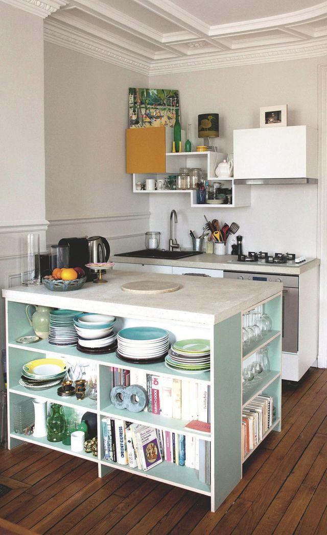 cuisine ouverte 5 fa ons de bien l 39 am nager metals plan de travail and read more. Black Bedroom Furniture Sets. Home Design Ideas