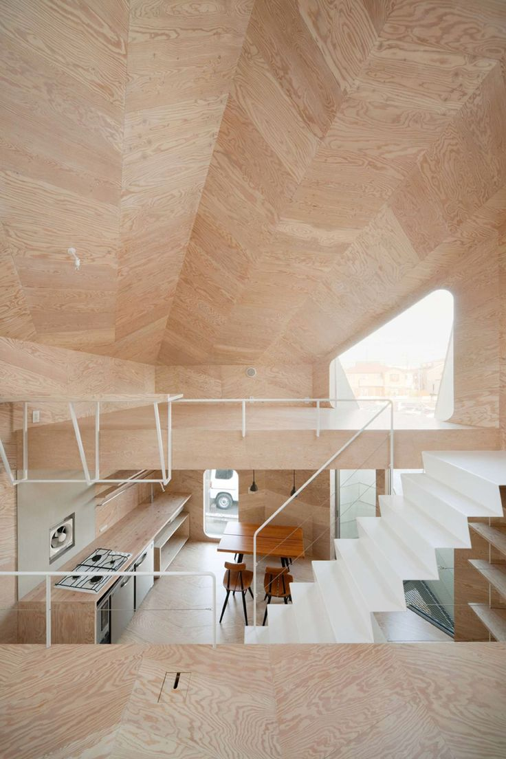 TSUBOMI HOUSE BY FLAT HOUSE Japanese architecture firm Flat House has completed a project, which combines two functions within a very limited space: a sweets shop and a family home. www.thefacedesign.com