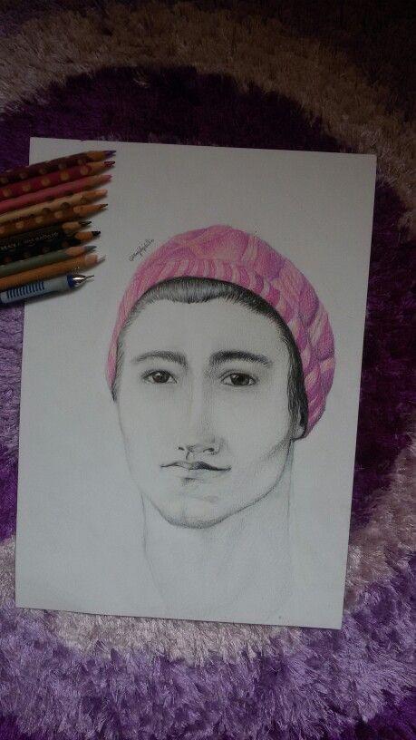 Callan McAuliffe  Colour pencils