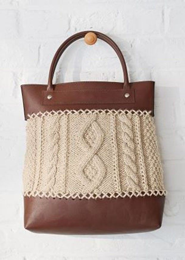 Leather Effect Bag Kit - Marron