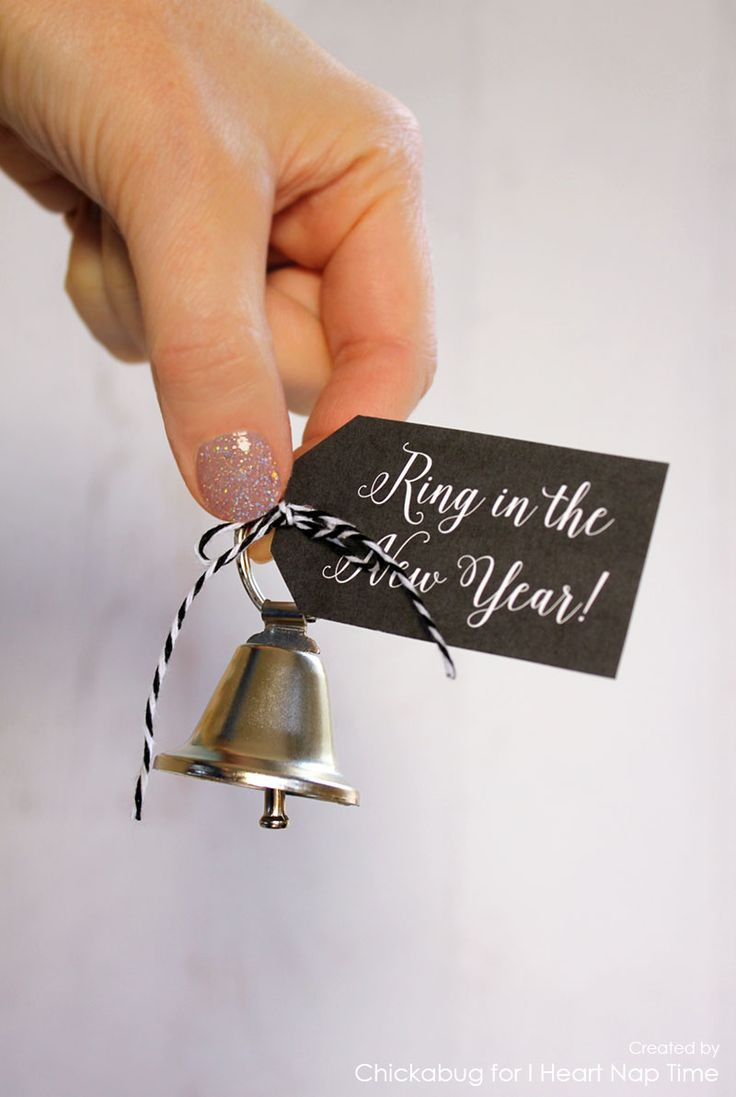 ring in the new year printables