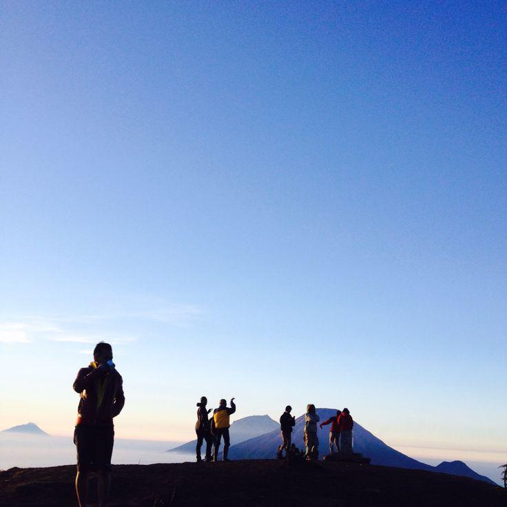 Prau mountain