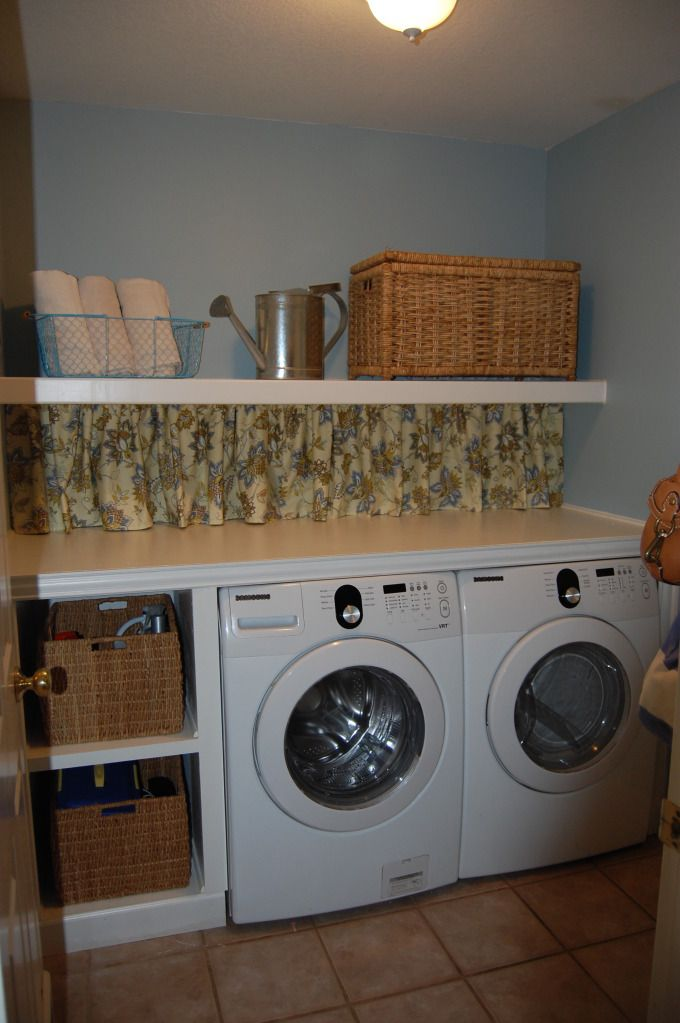Way To Utilize Small Laundry Room Space Hmmm I May