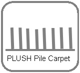 Plush pile is the ultimate in luxurious looking carpet. With a velvety appearance that brings texture and tonal variances to the floor, plush is a truly elegant carpet style that requires care and maintenance to maintain its as-new appearance for years to come.  Features   •Luxurious and beautiful appearance  •Perfect for a formal environment  •Comfortable  •Resilient
