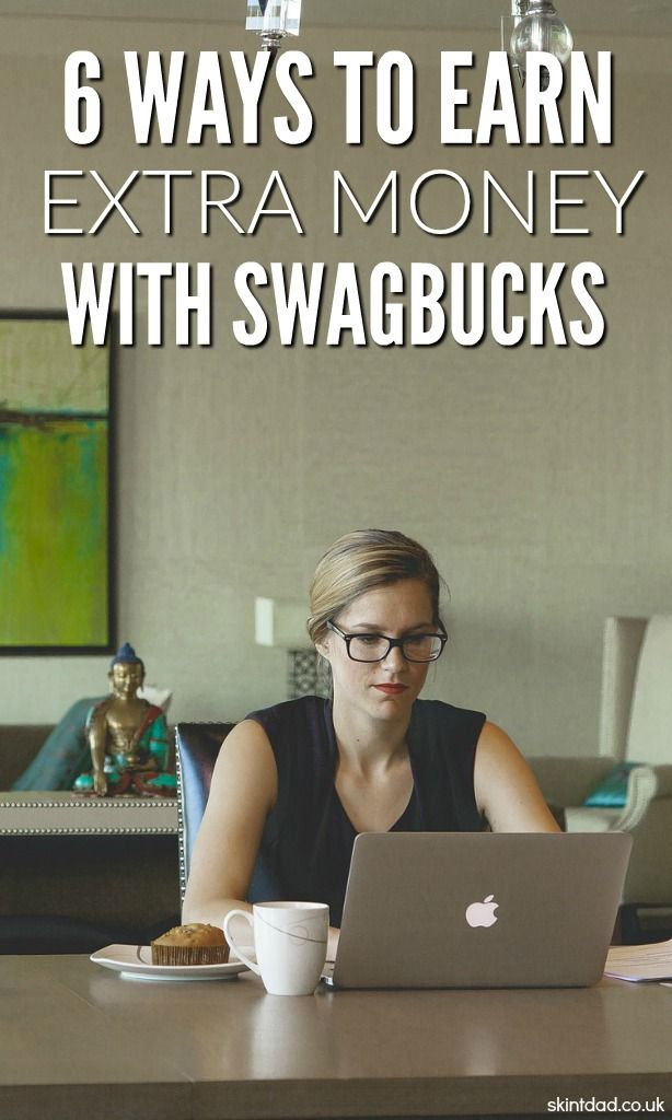 An easy way to make money online from home and in your spare time is with Swagbucks. There are lots of ways to earn more and you'll start seeing the bucks add up.