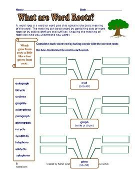 free 5 prefix suffix and roots printables with answer keys grades 3 6 pinterest see more. Black Bedroom Furniture Sets. Home Design Ideas