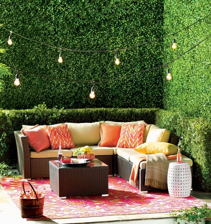 Eclectic Outdoor Design