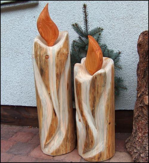 """Rustikale Weihnachtsdeko Aus Holz ~ zu """"Weihnachtsdeko Aus Holz auf Pinterest  Basteln Mit Holz, Holz"""