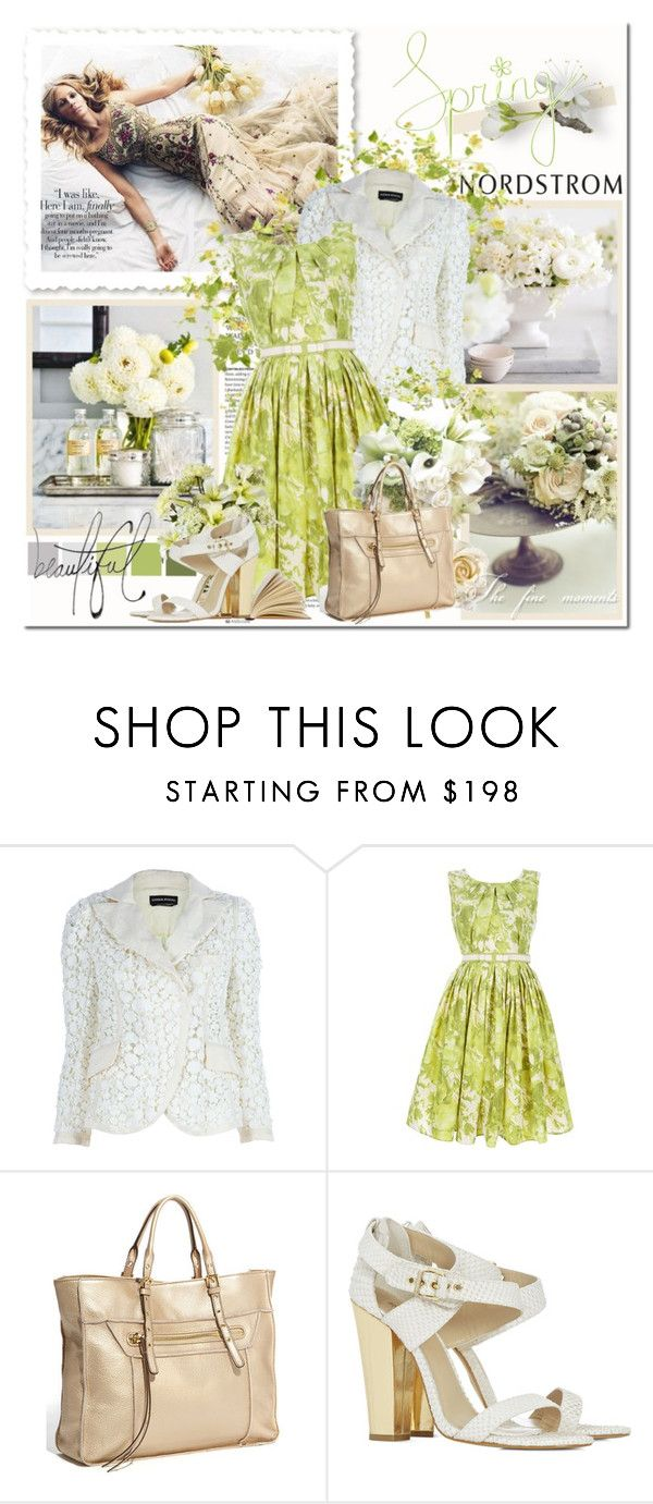 """""""Julia Roberts - Spring Recollections"""" by amaryllis ❤ liked on Polyvore featuring Nordstrom, Drift Away, Sonia Rykiel, Antonio Marras, Steve Madden, Reiss, Bellagio, leather tote bags, floral dresses and floral print"""