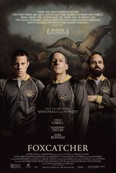 Foxcatcher stars Steve Carell steps into dramatic territory with this docudrama about John du Pont, the schizophrenic millionaire who infamously shot and killed his friend and Olympic gold-medal wrestler Dave Schultz before locking himself in his mansion as police officers negotiated his surrender for two days.