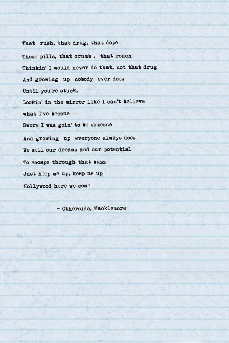 macklemore otherside lyrics