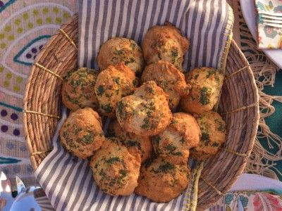 Cheddar Biscuits. Haylie Duff - The Real Girl's Kitchen