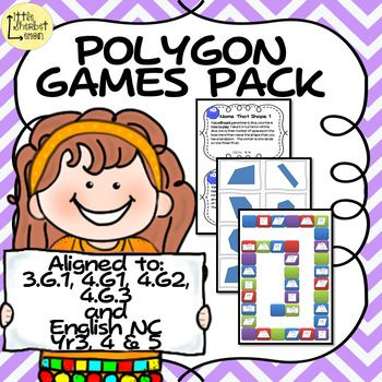 Never make learning about 2D shapes boring every again with this polygon games pack with 3 games boards, instructions for 10 different games and shape cards included. The games include: -Triangle True or False - using the 32 true or false game cards identify the different types of triangles. -Draw me a Triangle - draw a type of triangle of your