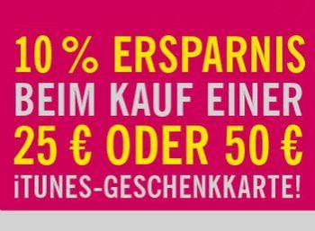 Lidl: Zehn Prozent Rabatt auf iTunes-Karten bis Samstag https://www.discountfan.de/artikel/tablets_und_handys/lidl-zehn-prozent-rabatt-auf-itunes-karten-bis-samstag.php Nur bis Samstag sind bei Lidl iTunes-Karten mit zehn Prozent Rabatt zu haben. Verbillig sind allerdings nur die Karten mit 25 und 50 Euro Guthaben, außerdem gilt die Aktion nur im Laden vor Ort. Lidl: Zehn Prozent Rabatt auf iTunes-Karten bis Samstag (Bild: Lidl.de) Der iTunes-Rabatt von Lidl ... #Guthaben