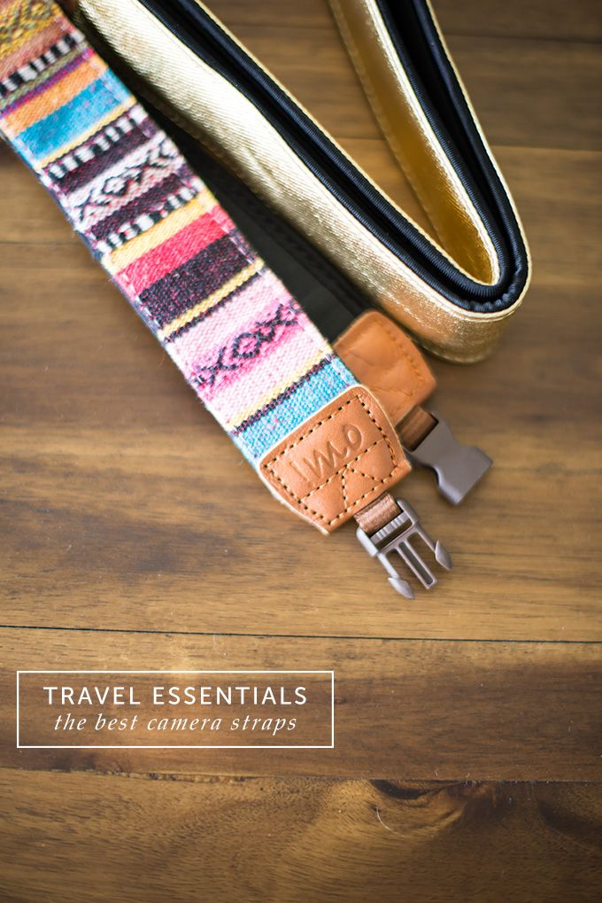 the best camera straps for travel - Postcards from Rachel