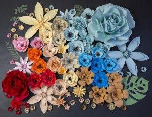 Flow Art Decor,  paper flower , wedding decorations