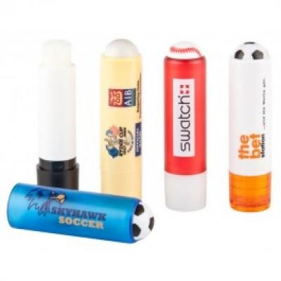 Image of Promotional Sports Themed Lip Balm. Mix And Match Colours.