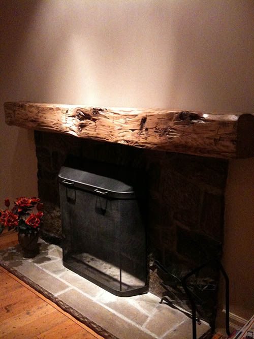 16 Best Images About Barn Beam Mantel On Pinterest