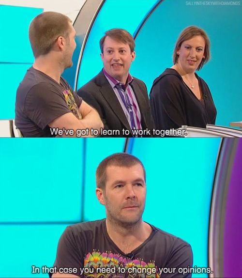 my life is in dire need of more David Mitchell and Rhod Gilbert. together.
