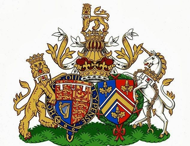 The Duke and Duchess of Cambridge have a new conjugal coat of arms which will represent them in heraldic terms as a couple.