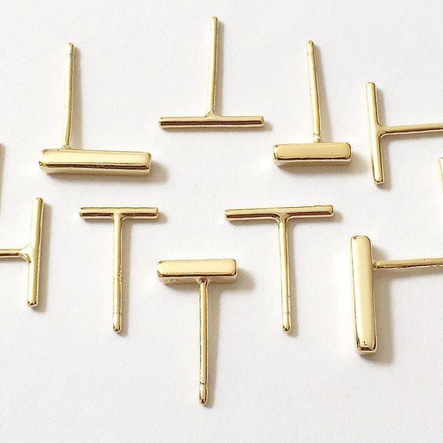 Bar & Super Fine Bar Earrings    www.gmssilver.com