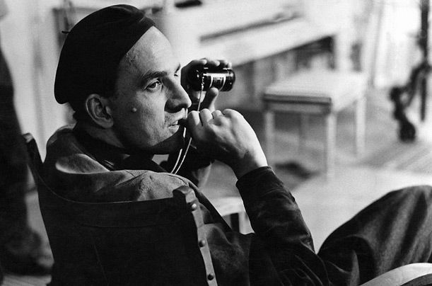 INGMAR BERGMAN -the works of Swedish film and stage director Ingmar Bergman (1918-2007) are marked by intellectuality, metaphysical speculation, and symbolic and allegorical content.  Ingmar Bergman radically altered the nature and meaning of the motion-picture form, transfiguring a medium long devoted to spectacle into an art capable of profoundly personal meditations into the myriad struggles facing the psyche and the soul.