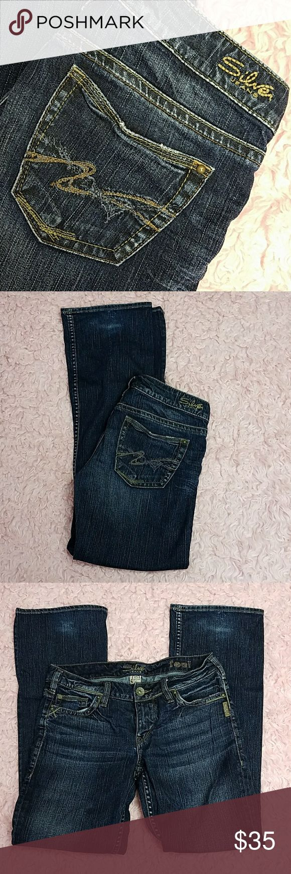 Silver Toni Jeans Nice dark wash. 29x31 Silver Jeans Jeans Boot Cut