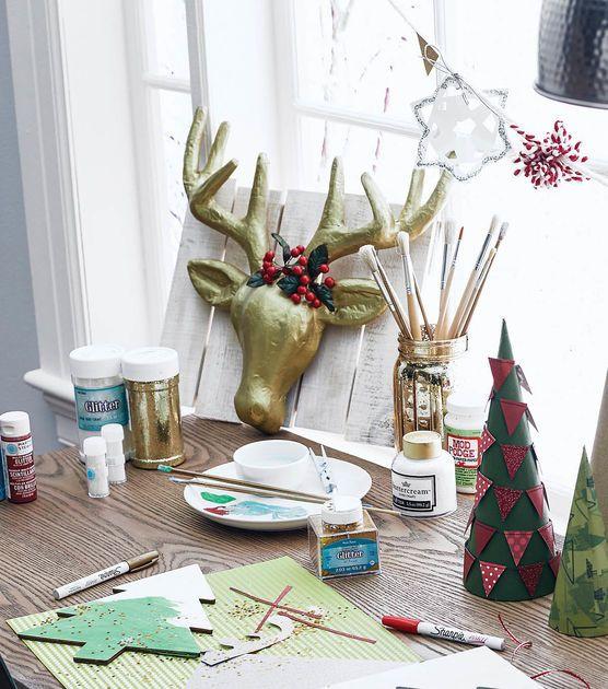 How To Make A Paper Mache Deer Head
