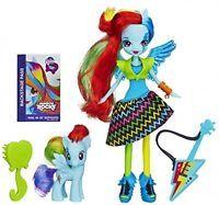 My Little Pony Toy - Equestria Girls Rainbow Dash Doll And Pony Set - Rainbow