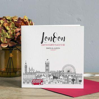 Personalised London Card