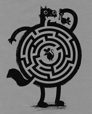 Kitty Maze Garden Maze design