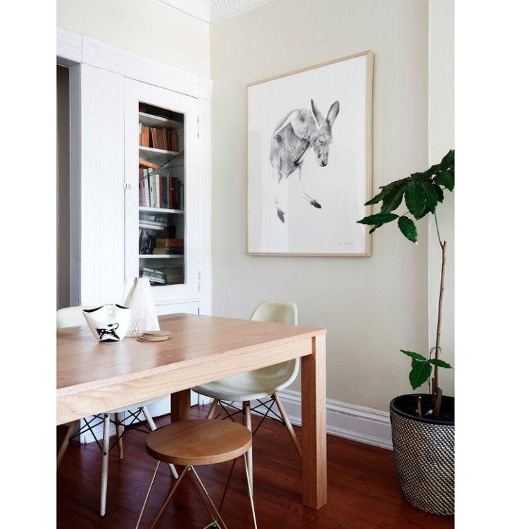 Appartement in Brooklyn vol vintage en planten