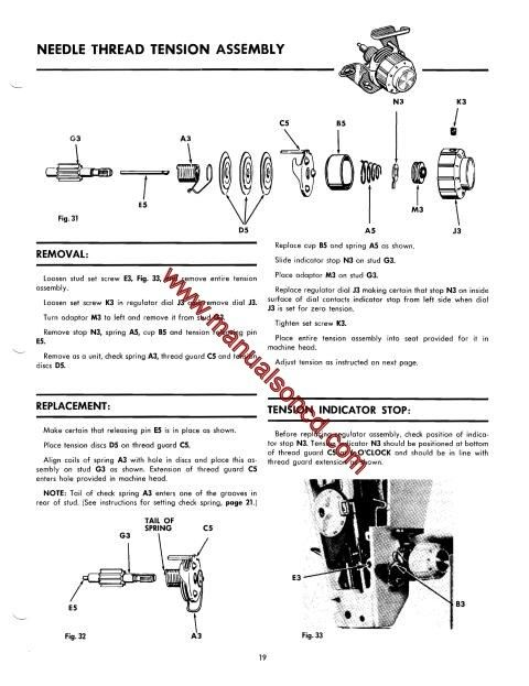1425 best Sewing Machine Manuals images on Pinterest