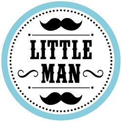 Free Printables Baby Shower Little Man Mustache Bash