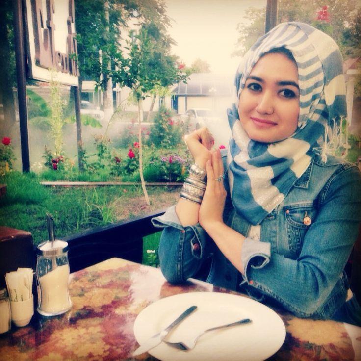 Hijab Fashion And Style Uzbechka From Instagram Hejab Style Pinterest Instagram The O