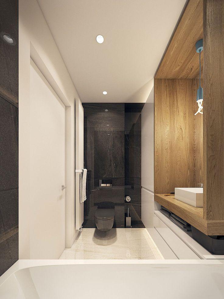 oltre 25 fantastiche idee su bagni in bianco e nero su pinterest ... - Arredo Bagno Moderno In Marmo